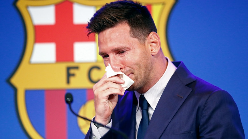 As Messi leaves Barcelona, another piece of football's magic is lost forever