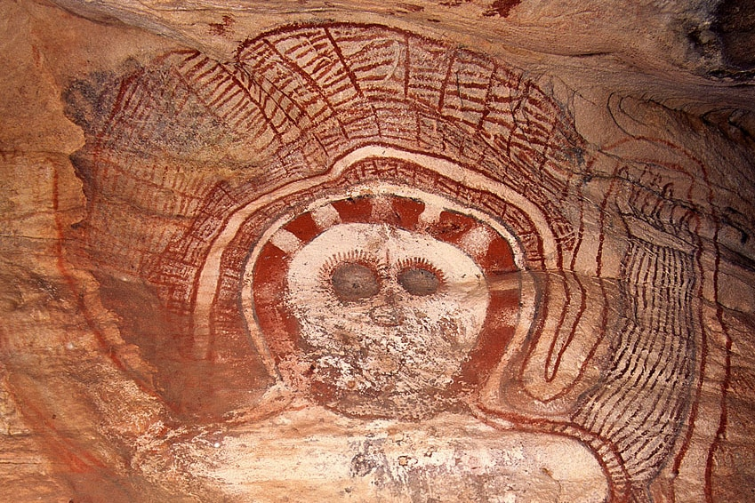 Wandgina rock art