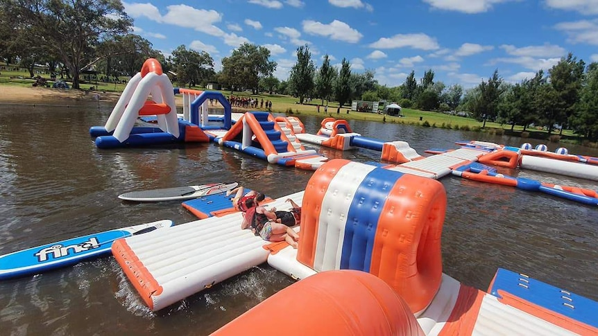 Canberra Water Park inflatable equipment