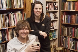 Joshua Boyd-Green moved to Australia with his wife Ellen to buy her gran's favourite bookshop.