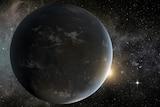 Artist's impression of Kepler-62f and Kepler-62e