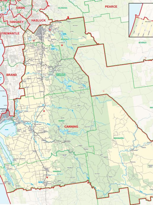 Canning electorate