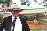 Deputy Prime Minister Barnaby Joyce in Broken Hill.