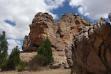 Taylors Rock is a popular climbing spot at Mount Arapiles in western Victoria.