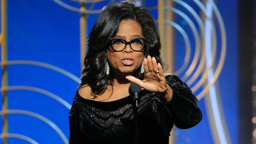 Oprah Winfrey's speech at the Golden Globes sparked calls for her to run against Donald Trump