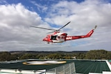 The Lyell McEwin Hospital in Adelaide's north now has a helicopter landing pad.