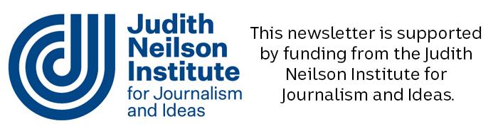 Blue Judith Nielson Institute logo