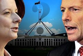 Julia Gillard and Tony Abbott face off (AAP)