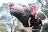 The Big Tasmanian Devil at Mole Creek, Tasmania.