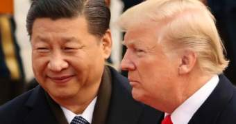 Donald Trump meets Xi Jinpin