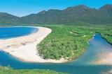 Drone shot of Hinchinbrook Island