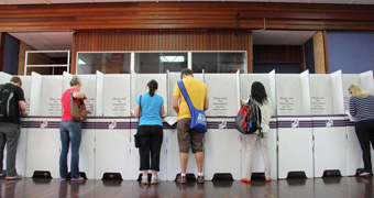 Voters head to the polls
