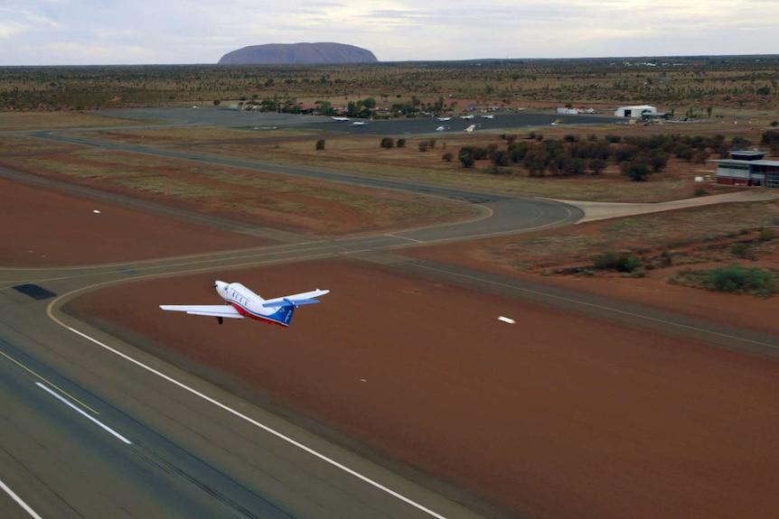 Royal Flying Doctor Service at Uluru