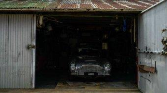 Backyard Aston Martin