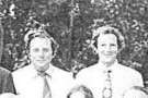 Darrell Ray and Gary Mitchell in a 1973 Beaumaris Primary School staff photograph.