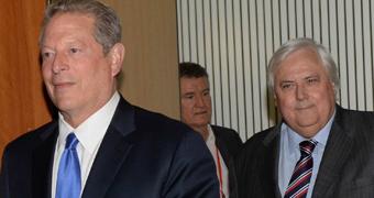 Al Gore Clive Palmer CUSTOM