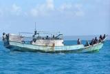 An illegal fishing boat in Australian waters.