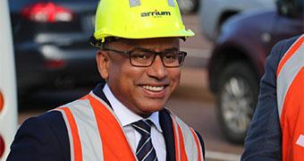 Whyalla steelworks owner Sanjeev Gupta