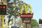 McDonald's stores targeted by axe-wielding bandits.