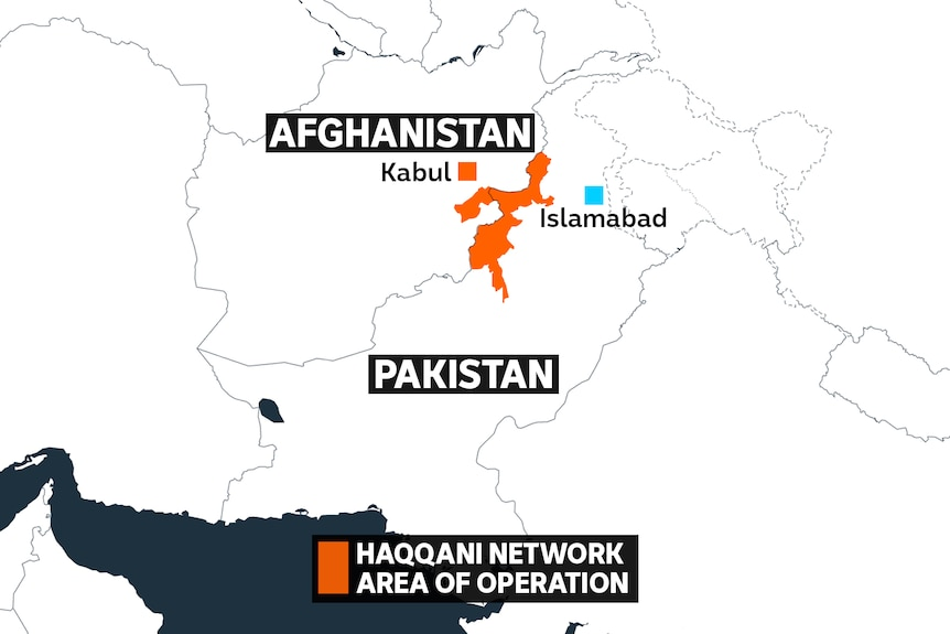 A map shows a highlighted area on the Pakistan-Afghan border.