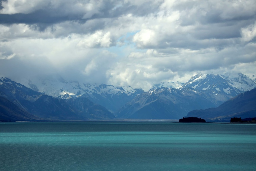 Mountains in the South Island.
