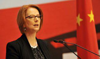 Julia Gillard in China