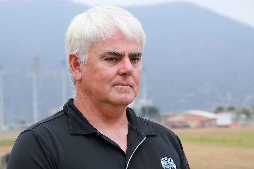 Scott Gadd, chief executive of Royal Agricultural Society of Tasmania, pictured at Hobart showgrounds, January 17, 2019.
