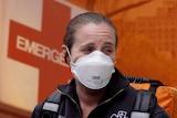 New York paramedic Megan Pfeiffer.