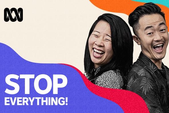 Stop Everything! new artwork