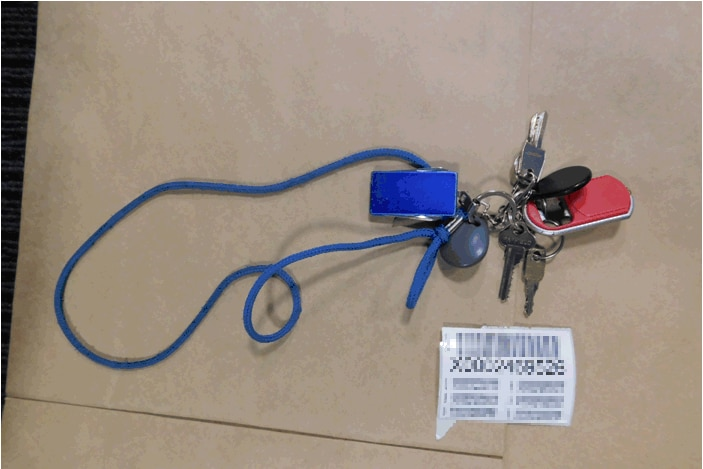 Mail keys used by thieves.