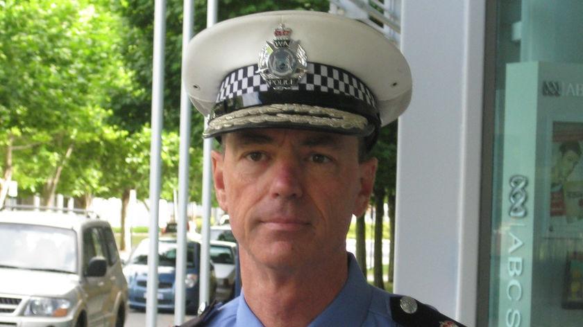 Police Commissioner Karl O'Callaghan