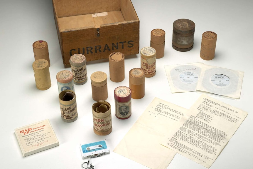 The wax cylinder historical recordings of Fanny Cochrane Smith.