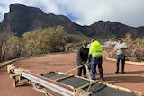 Bluff Knoll trail rebuild