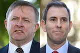 A composite image of Anthony Albanese and Jim Chalmers.