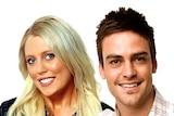 2Day FM presenters Mel Greig, Michael Christian