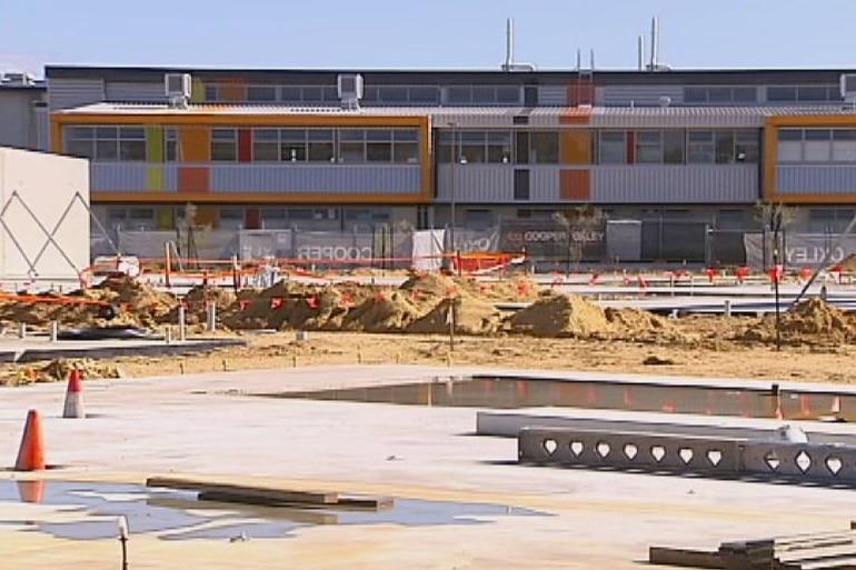 Baldivis Secondary College stage two works underway