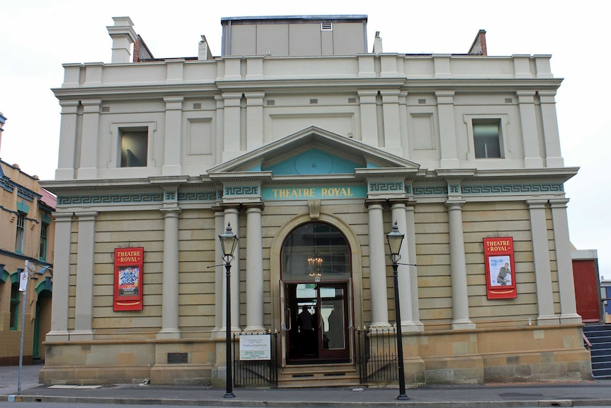 The Theatre Royal in Hobart