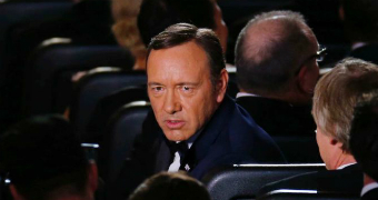 Kevin Spacey at the Emmy's.