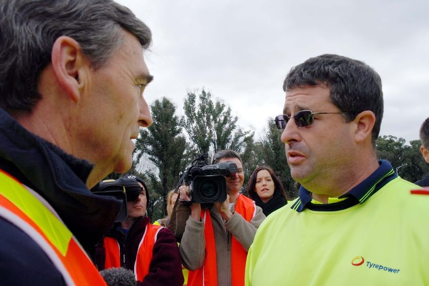 Callignee resident confronts John Brumby