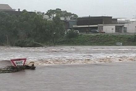 Mt Isa has felt the brunt of heavy rain in western Queensland