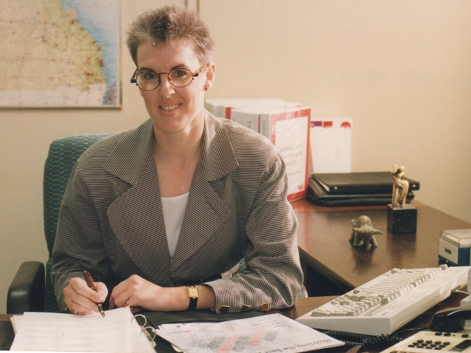 Diane Smith-Gander was working with Westpac during the early 1990s.