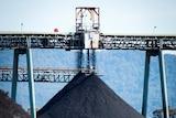 Gloucester Stratford Coal stock piles
