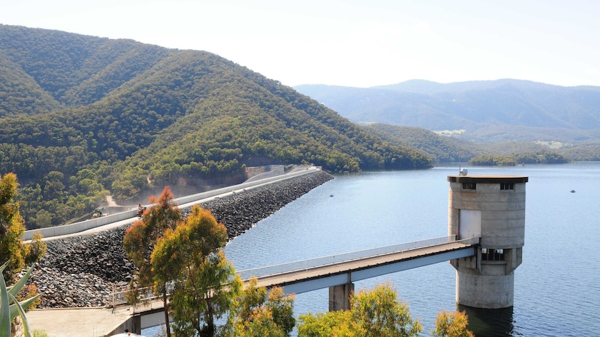 Blowering Dam is a hot spot for water-lovers in the warmer months