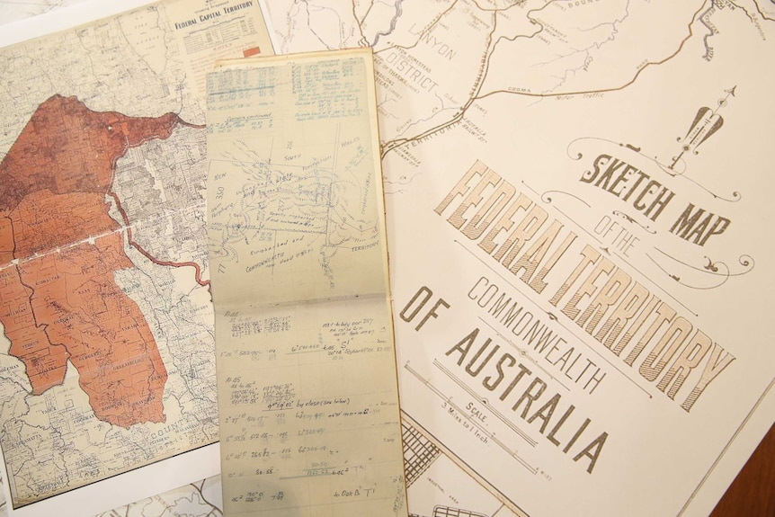 Old sketches of Canberra showing how the ACT could have looked.