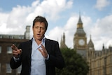 Hacked Off: Hugh Grant has been outspoken in his protest against the phone hacking.