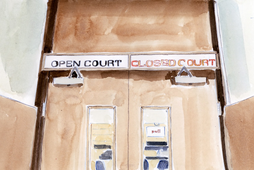 Open Court Closed Court