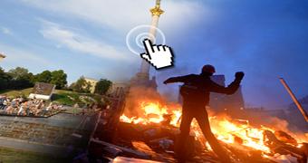 Kiev interactive custom image
