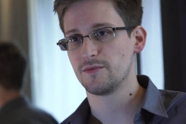 Edward Snowden, the man behind the controversial NSA leaks in 2013.