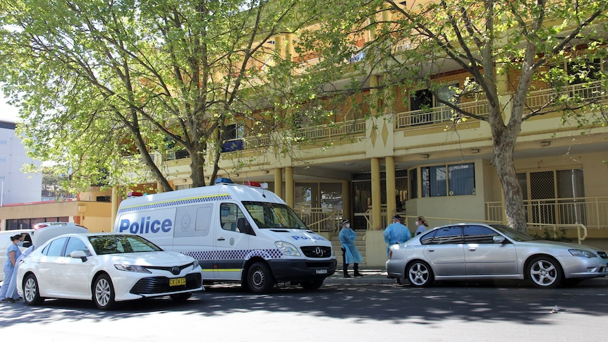 Wollongong apartment outbreak