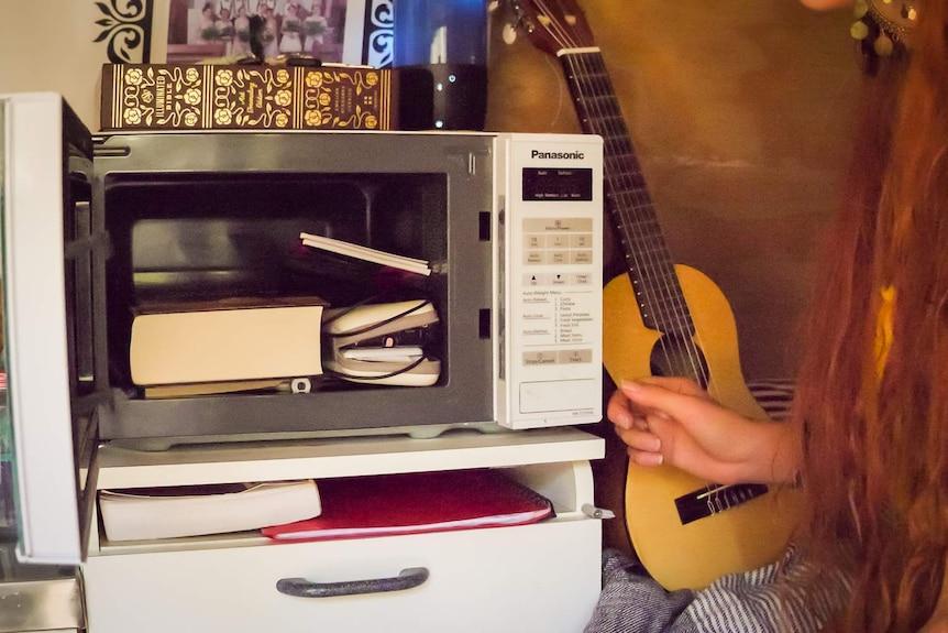 Van microwave